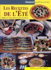 Recettes D'Ete - Couverture - Format classique