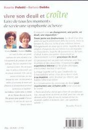 Vivre Son Deuil Et Croitre N.46 - 4ème de couverture - Format classique