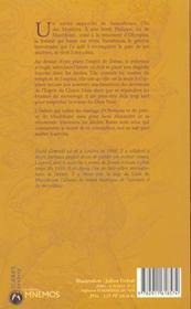 Le Lion De Macédoine T.2 ; Le Prince Noir - 4ème de couverture - Format classique