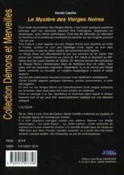 Chartres ; mysteres ; vierge noire - 4ème de couverture - Format classique