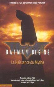 Batman begins - Intérieur - Format classique