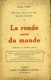 Edition Definitive Des Ballades Francaises Tome 1 : La Ronde Autour Du Monde. - Couverture - Format classique