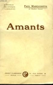 Amants. - Couverture - Format classique