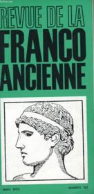 Revue De La Franco Ancienne N°182 - Couverture - Format classique
