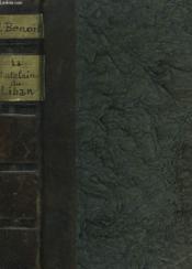 La Châtelaine Du Liban - Couverture - Format classique
