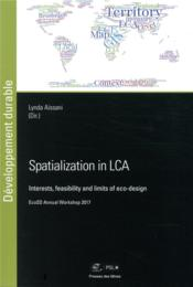 Vente  Spatialization in lca ; ecosd annual workshop 2017  - Aissani Lynda
