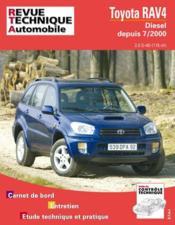 Rta 662.1 Toyota Rav 4 Diesel - Couverture - Format classique