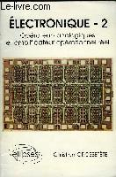 Electronique 2 Operateurs Analogiques Et Amplificateur Operationnel Reel - Couverture - Format classique