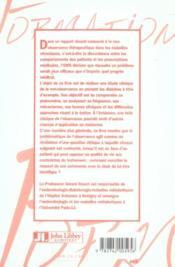 Clinique de l'observance. l'exemple des diabètes - 4ème de couverture - Format classique