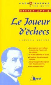 Joueur D'Echecs - Zweig (Le) - Intérieur - Format classique