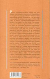 Printemps Mortel - 4ème de couverture - Format classique
