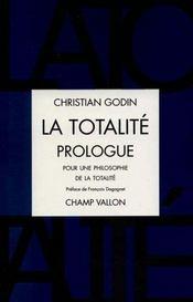 La Totalite Prologue - Intérieur - Format classique