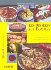 Les desserts aux pommes - 4ème de couverture - Format classique