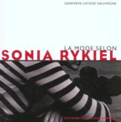 La mode selon sonia rykiel - Couverture - Format classique