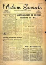 Action Sociale (L') N°36 du 29/05/1948 - Couverture - Format classique
