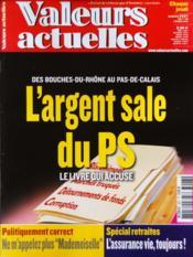 Valeurs Actuelles N°3927 du 07/03/2012 - Couverture - Format classique