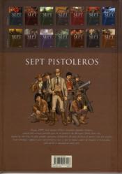 Sept pistoleros ; septs légendes de l'Ouest face à leur destin - 4ème de couverture - Format classique