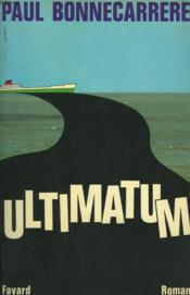 Ultimatum. - Couverture - Format classique