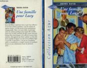 Une Famille Pour Lucy - Mc Allister'S Baby - Couverture - Format classique