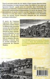 Voisins, voisines, voisinage ; les cultures du face-à-face à Lyon à la veille de la Révolution - 4ème de couverture - Format classique