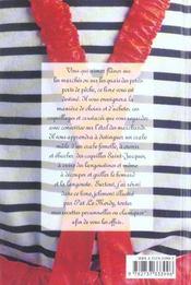 Coquillages et crustacés de la Mère Charlon - 4ème de couverture - Format classique
