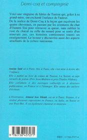 Demi-Coq Et Compagnie - 4ème de couverture - Format classique