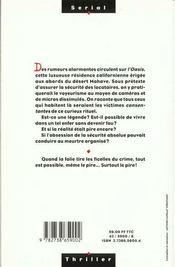 Securite Absolue - 4ème de couverture - Format classique