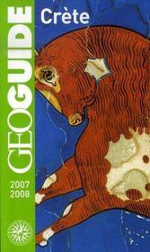Geoguide ; Crète ; Heraklion, Cnossos, Rethymnon, Hania, Les Gorges De Samar (Edition 2007-2008) - Intérieur - Format classique