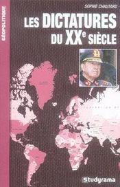 Les Dictatures Du Xx Siecle - Intérieur - Format classique