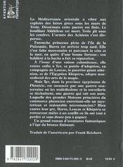 Aube De Fer - 4ème de couverture - Format classique