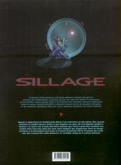 Sillage t.8 ; nature humaine - 4ème de couverture - Format classique
