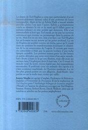 Ted hugues ; la terre hantée - 4ème de couverture - Format classique