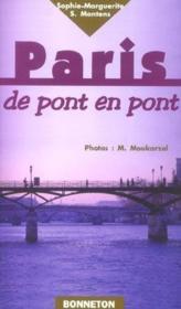 Paris de pont en pont - Couverture - Format classique