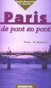 Paris de pont en pont - Intérieur - Format classique