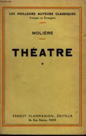 Theatre Complet. Tome 1. - Couverture - Format classique