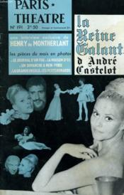 Paris Theatre N° 191 - La Reine Galante D'Andre Enstelot - Une Interview Exclusive De Henry De Montherlant - Les Pieces Du Mois En Photos: Le Journal D'Un Fou, La Maison D'Os, Un Dimanche A New-York... - Couverture - Format classique