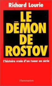 Le demon de rostov - Couverture - Format classique
