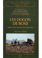 Les dogon de Boni - Couverture - Format classique