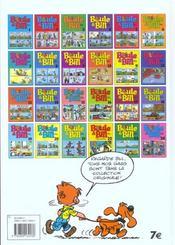 Boule & Bill ; best of - 4ème de couverture - Format classique
