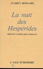 La Nuit Des Hesperides - Couverture - Format classique
