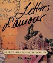 Love letters le petit livre des lettres d'amour - Couverture - Format classique
