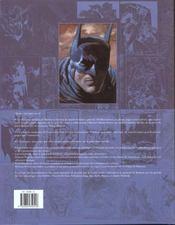 Batman portraits du dark knight et de son univers - 4ème de couverture - Format classique