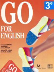 Go For English 3e (Afrique Centrale) - Couverture - Format classique