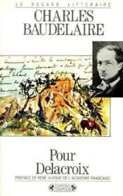 Pour Delacroix - Couverture - Format classique