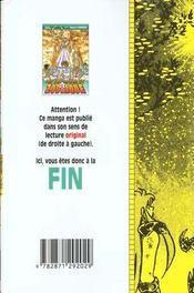 Les Chevaliers Du Zodiaque T.21 - 4ème de couverture - Format classique
