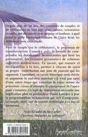 Couple Et C?Ur Conscient - Etes-Vous T.2 - 4ème de couverture - Format classique