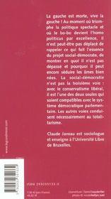 Vive La Sociale - 4ème de couverture - Format classique