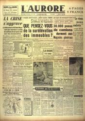 Aurore (L') N°1155 du 01/06/1948 - Couverture - Format classique