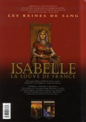 Les reines de sang - Isabelle, la louve de France T.1 - 4ème de couverture - Format classique
