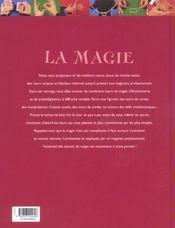 La magie ; 110 tours de magie pour toute la famille - 4ème de couverture - Format classique